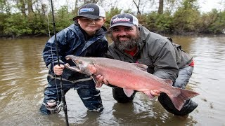 Alaskan Coho Fishing