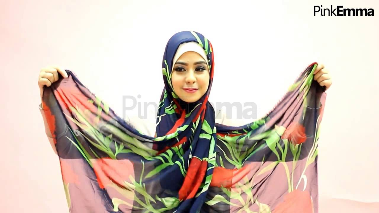 Tutorial Hijab Risty Tagor Floral Praktis Saat Ramadan YouTube
