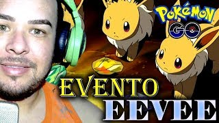 🔴 EVENTO EEVEE | POKEMON GO | FAKE GPS | #FLY