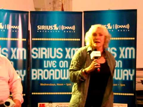 Betty Buckley sings Some People at Sirius XM show