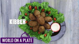 How to make Kibbeh | The Classic Levantine Snack | World on a Plate | Manorama Online Recipe