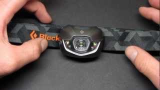 Black Diamond Spot Headlamp Review with Beamshots