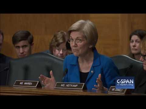 Sen. Elizabeth Warren questions HUD Secretary Nominee Dr. Ben Carson (C-SPAN)