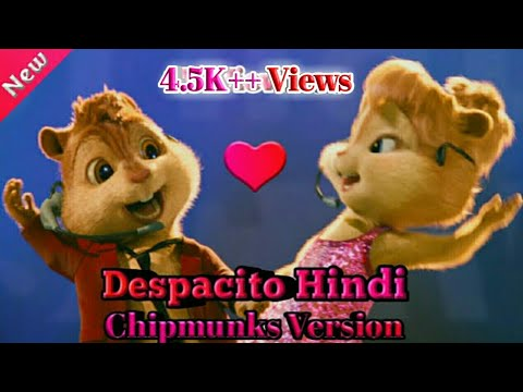 Chipmunks Version   Despacito Hindi Version   ft. Alvin And Brittany thumbnail