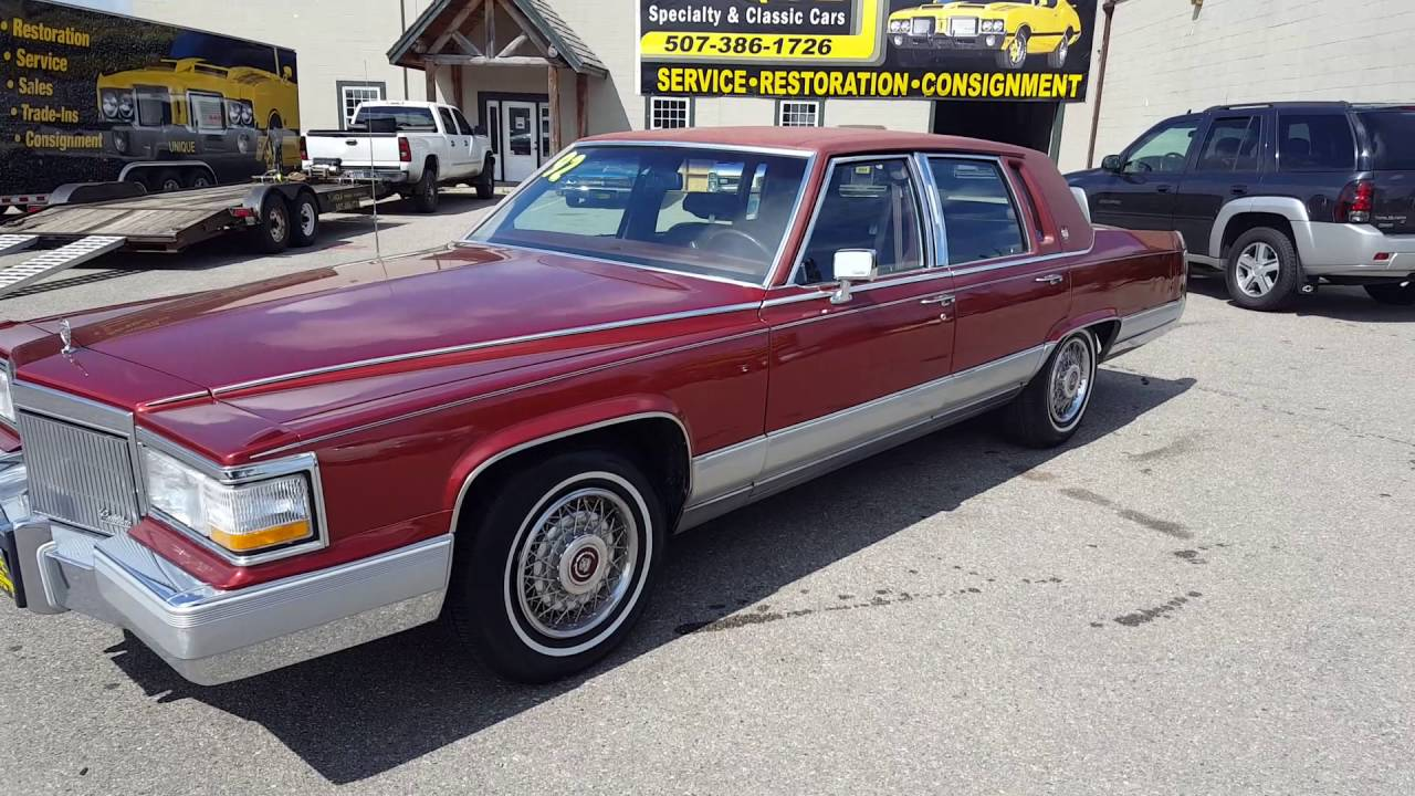 1992 Cadillac Fleetwood For Sale At  Uniqueclassiccars