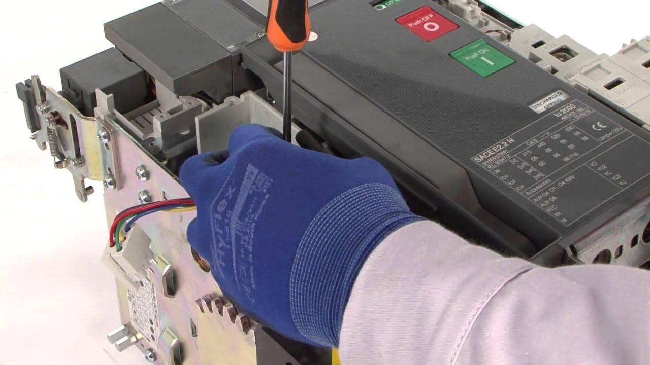 Sace Emax 2 Motor For E22e62 Youtube Techno 4 Circuit Diagram