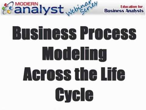 Business Process Modeling Across the SDLC - and its Links to Other BA Tools w/ Howard Podeswa