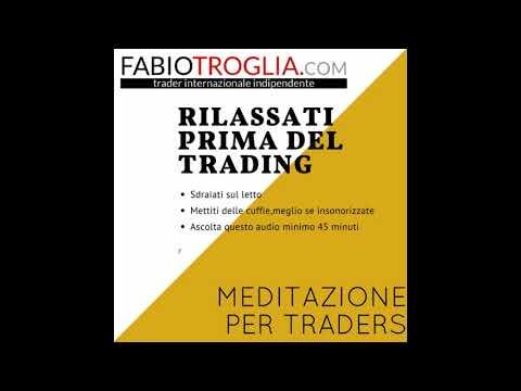 Meditazione per traders di borsa