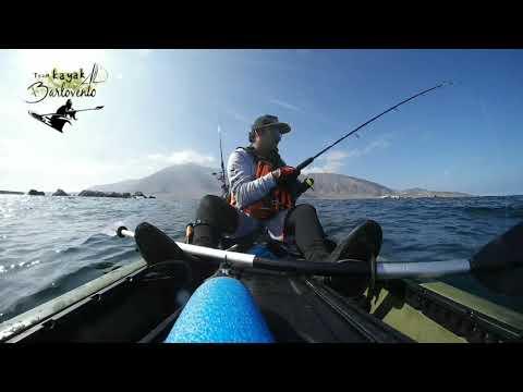 Pesca en kayak isla santa maria