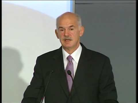 George Papandreou's speech at the Arab Economic Forum