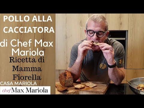POLLO ALLA CACCIATORA di Casa Mariola - la video ricetta - TUTORIAL - di Chef Max Mariola