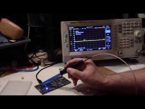 EMI/EMC Testing: DSA815 w/ DIY Probes, TekBox Probes, TEM Cell