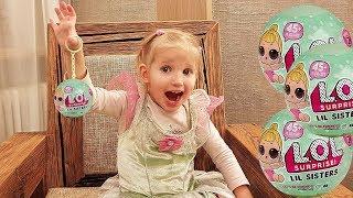 Алина играет с новой Lil Sisters Babies - LOL Surprise Blind Bag Color Change || ЛИЛ Сестричка