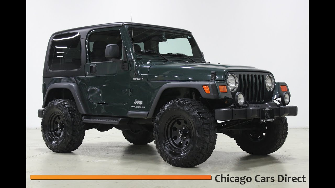 Chicago Cars Direct Presents A 2003 Jeep Wrangler Sport