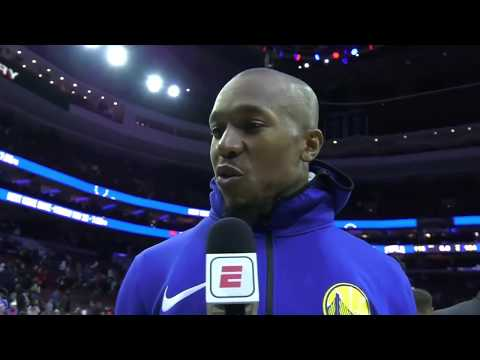 David West says Warriors settled down after 'wacky pregame'   ESPN