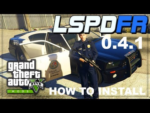 [GTA5 MODS] How To Download And Install LSPDFR 0.4 STEP BY STEP