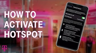 How To Setup Mobile HotSpot for iPhone & Android | T-Mobile