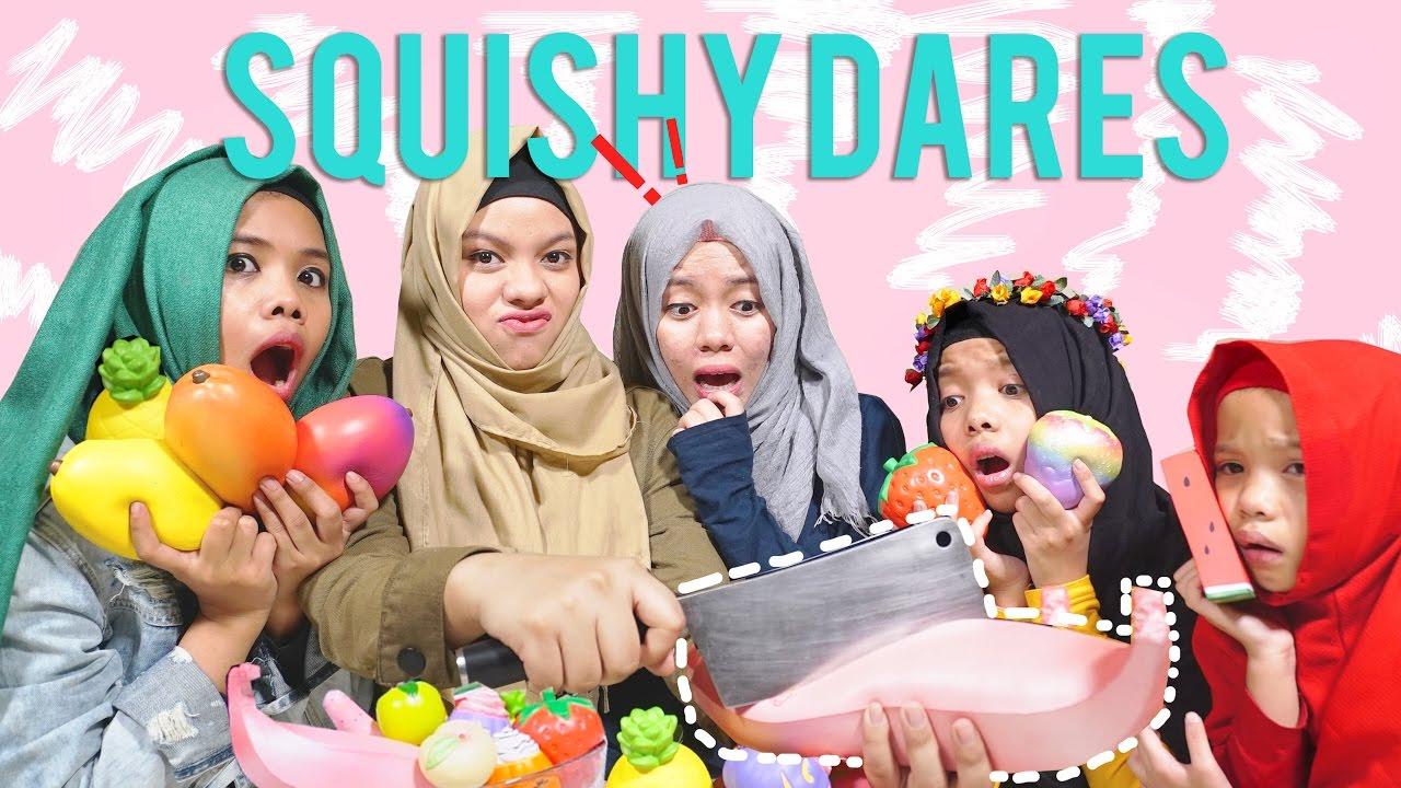 Squishy Terslow Di Dunia : YANG KALAH SQUISHY NYA DI POTONG - SQUISHY DARES! - BUAH EDITION Gen Halilintar - YouTube