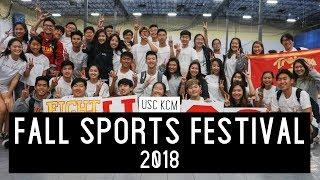 USC KCM | Fall Sports Festival 2018
