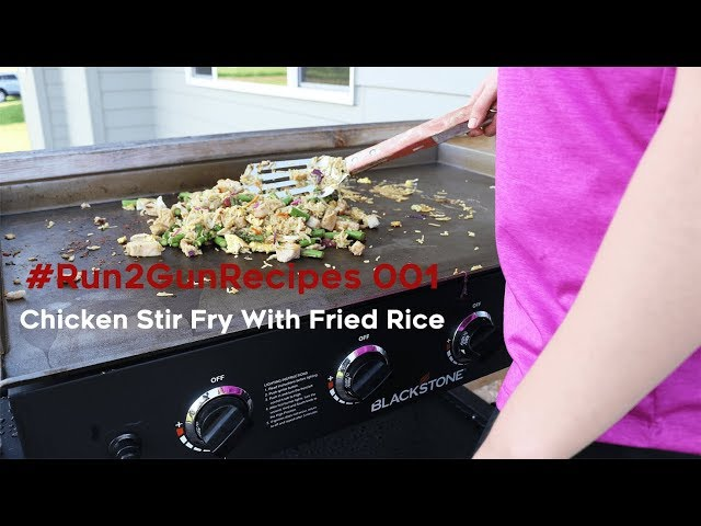 #Run2GunRecipe 001 | Chicken Stir Fry W/Fried Rice