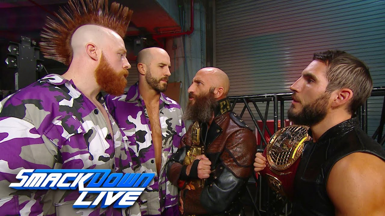 Johnny Gargano & Tommaso Ciampa call out The Bar: SmackDown LIVE, Feb. 19, 2019