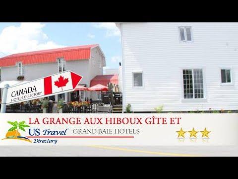 La Grange Aux Hiboux Gîte Et Restaurant B&B - Grand-Baie Hotels, Canada