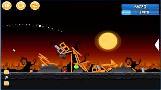Angry Birds trick or treat 3 Estrellas instancia de parte 3-6
