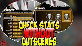 NBA 2K18🏀 How To Check Stats For A New Archetype Without Cutscenes😳 | QUICKEST METHOD‼️ |