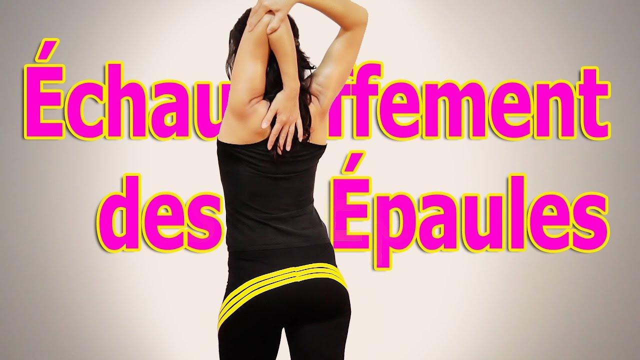 Échauffement Épaules et Dos Avant Musculation - YouTube