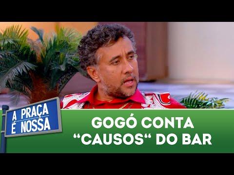 Gogó conta 'causos' do bar | A Praça é Nossa (12/07/18)