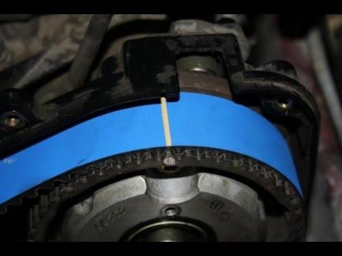 Как заменить ремень ГРМ и помпу Subaru Forester Своими Руками