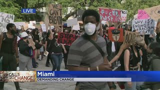 South Florida Protests Call For Police Reform