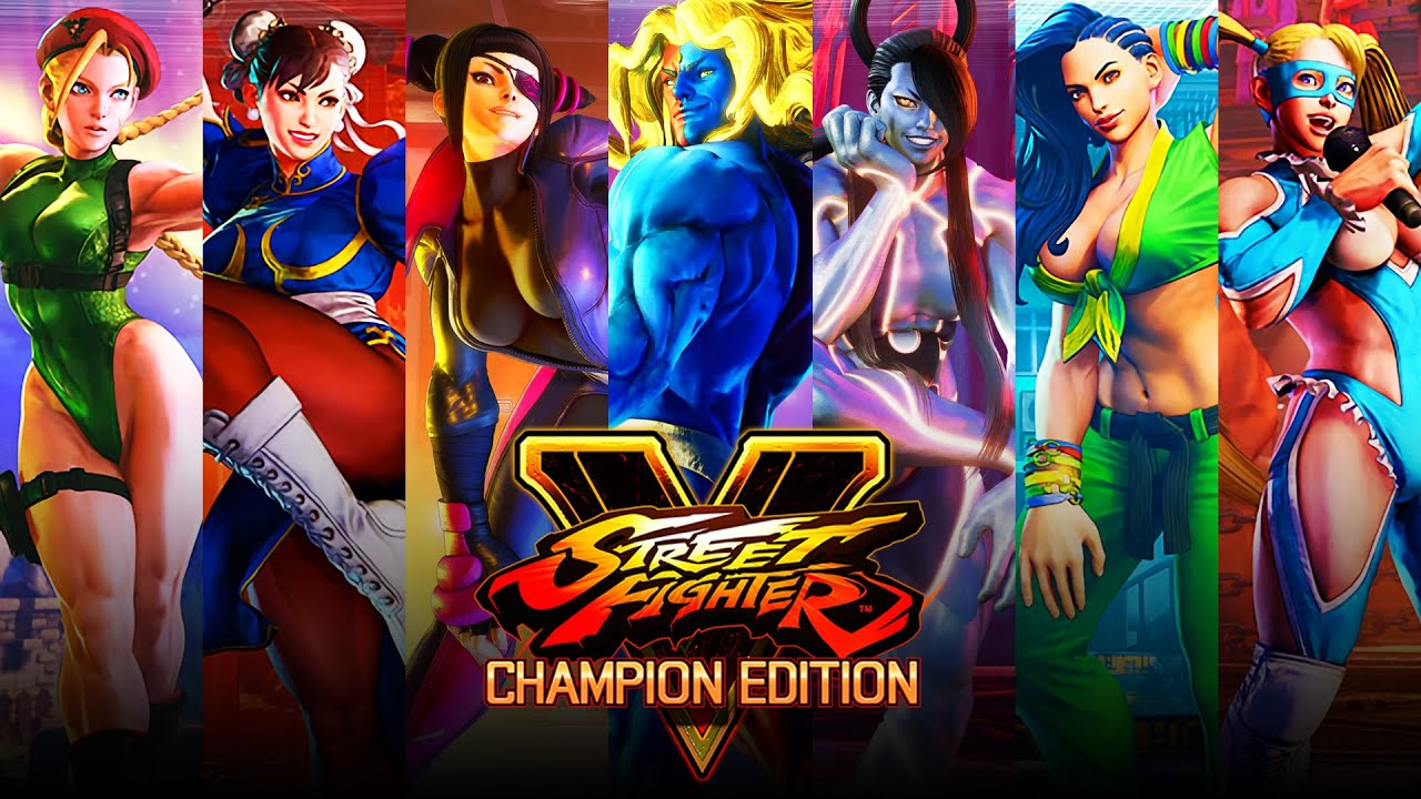 Street Fighter 5 Champion Edition All Critical Arts Youtube