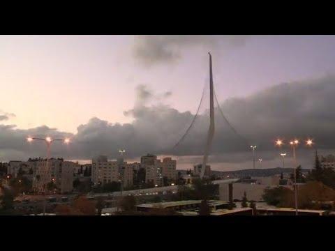 Jerusalem Bridge Melds Modern With Biblical