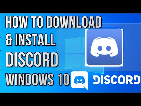 How to Download & Install Discord in Windows 10 (2021)
