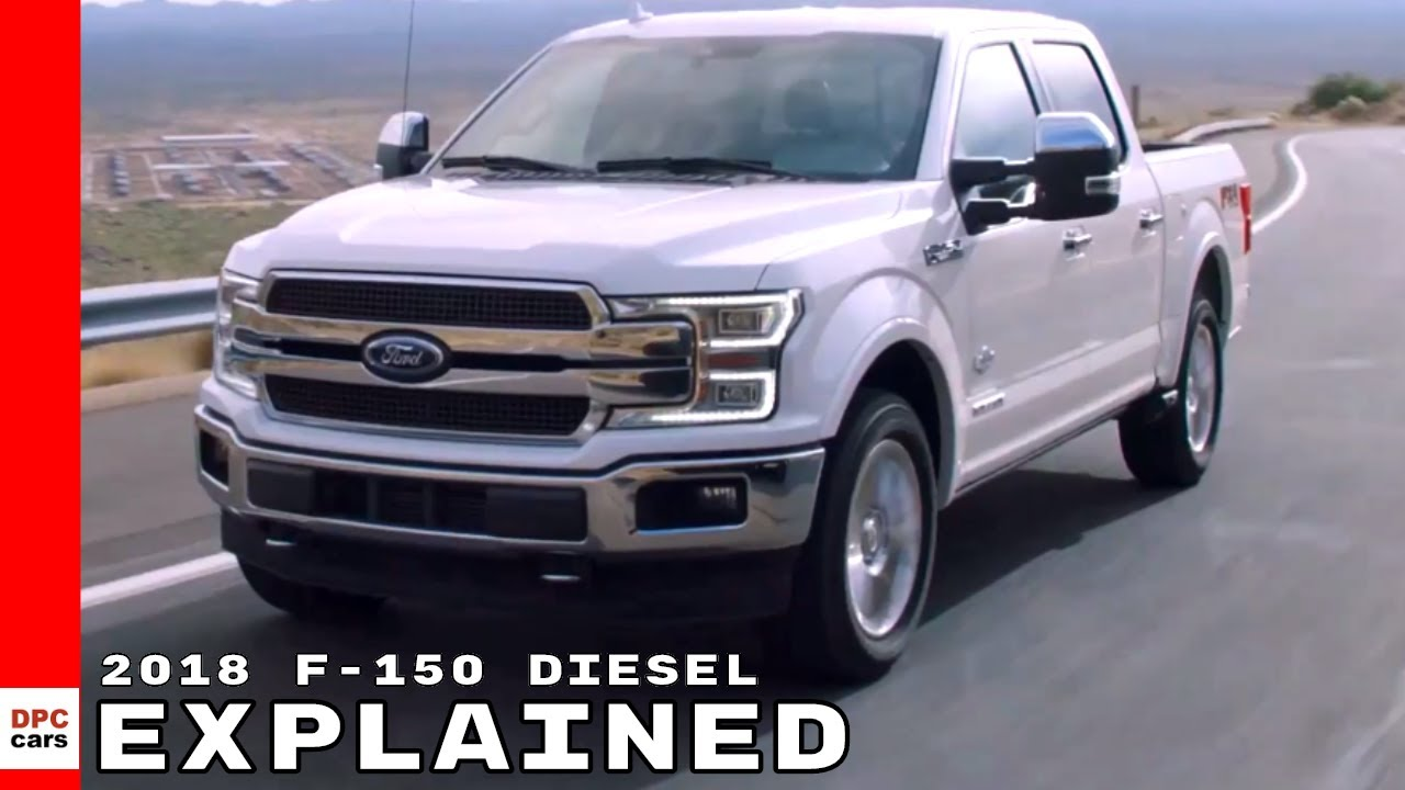 2018 ford f 150 power stroke diesel explained youtube. Black Bedroom Furniture Sets. Home Design Ideas