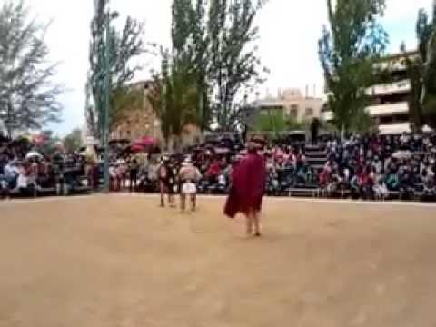 Gladiadores en Zaragoza