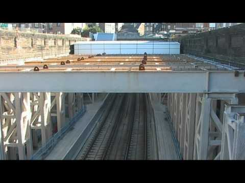 Crossrail time lapse video: Installation of working platform at Whitechapel Station, Dec 2010