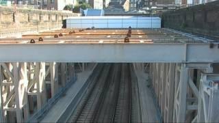 Crossrail time lapse video: Installation of working platform at Whitechapel Station, Dec 2010