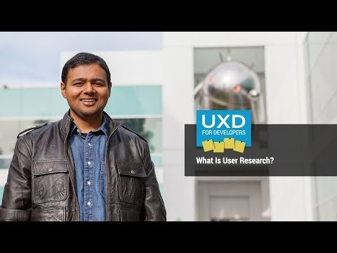 UXD: What is UX research?