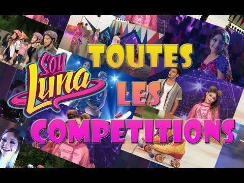 TOUTES LES COMPETITIONS DE SOY LUNA | Disney Channel MSC