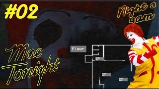 RONALD MAC DUMMWURM | FIVE NIGHTS WITH MAC TONIGHT: REMASTERED #02 | LET'S PLAY FNAF FANGAME
