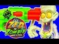 Zed The Zombie Vs Nerf Zombie Strike Guns Lots Of Freakish Family Fun