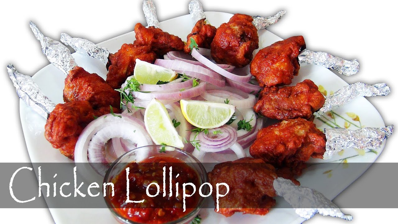 Chicken Lollipop - Indian Chinese Appetizer - YouTube