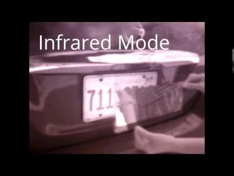 sunflexzone ir-invisible plate anti alpr/toll-way infrared camera