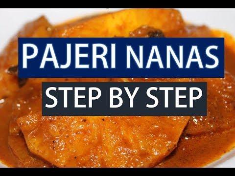 Cara Memasak Pajeri Nanas Resepi Pajeri Nanas Youtube