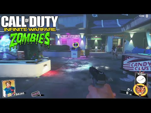 NEW INFINITE WARFARE ZOMBIES GAMEPLAY, PACK A PUNCH, & EASTER EGGS INFO! (IW Zombies)