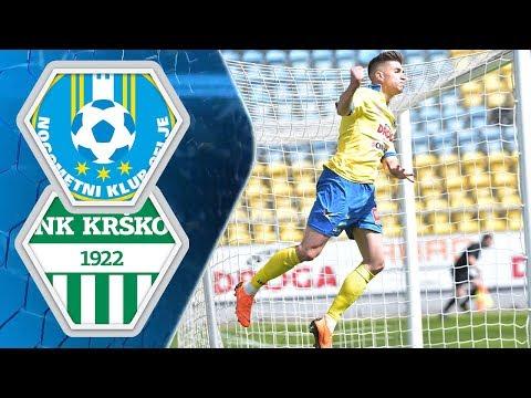 27. krog: Celje - Krško 5:0 ; Prva liga Telekom Slovenije 2017/2018