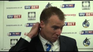 David Clarkson on Bristol Rovers' win against Burton (2-0)