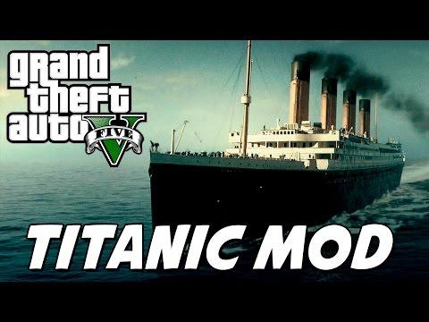 GTA V – RMS Titanic MOD